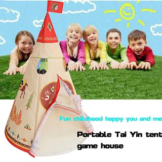 Foldable Tents Cartoon Toys Outdoor Sports Leisure Game House Children Tent