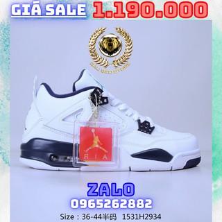 Order 1-3 Tuần + Freeship Giày Outlet Store Sneaker _Nike Air Jordan 4 Retro Orange Metallic AJ4 MSP gaubeostore.sho thumbnail