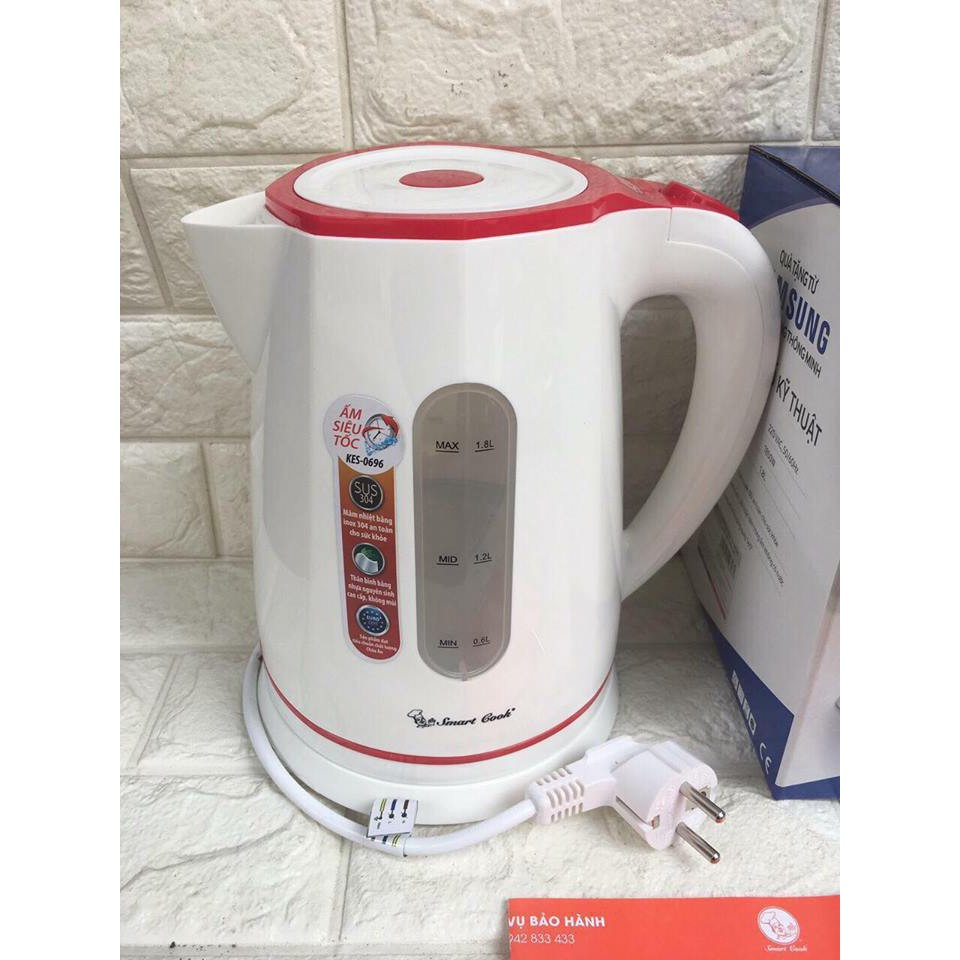 Ấm Siêu Tốc Elmich Smart Cook KES-0696 1850W 1,8L