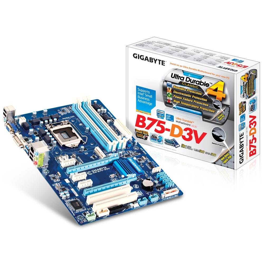Main H61 B75 Z77 chính hãng GIGABYTE ( Gaming New 99% )