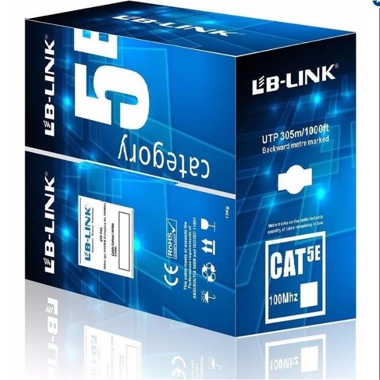 Dây mạng Cat5 Lblink (màu xanh)-Hãng phân phối chính thức