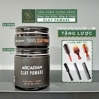 [Tặng Lược] Sáp tạo kiểu Arcadian Clay Pomade - 60g & 115g | Chính hãng bản mới nhất