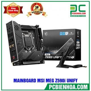 MAINBOARD MSI MEG Z590I UNIFY (WIFI) ( LGA1200 MINI-ITX 2XDDR4 ) thumbnail