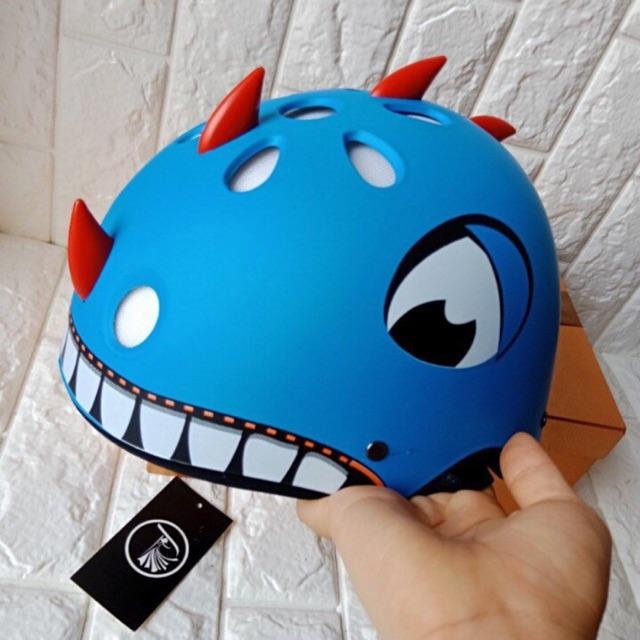 Mũ bảo hiểm khủng long kute hình thật