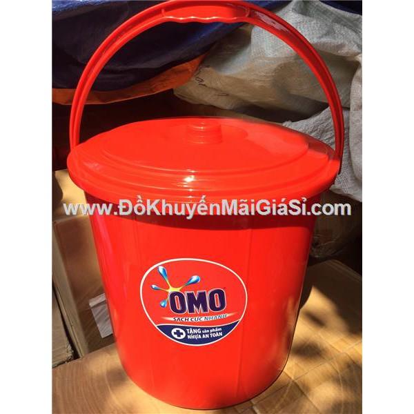 Xô nhựa có nắp Omo 18 lít màu đỏ - Kt: (33 x 32 x 34) cm. - 3088822 , 879544590 , 322_879544590 , 32000 , Xo-nhua-co-nap-Omo-18-lit-mau-do-Kt-33-x-32-x-34-cm.-322_879544590 , shopee.vn , Xô nhựa có nắp Omo 18 lít màu đỏ - Kt: (33 x 32 x 34) cm.