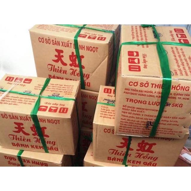 [Freeship tu 99k]1kg bánh gấu nhân kem Thiên Hồng tặng kèm kẹo socola