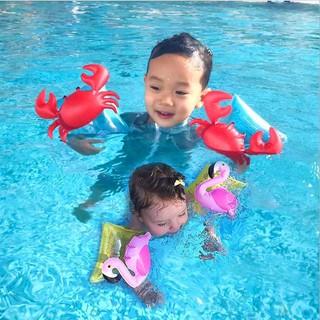 [Mã TOYJAN hoàn 20K xu đơn 50K] Phao tay tập bơi cho bé hình thiên nga,cua... thumbnail
