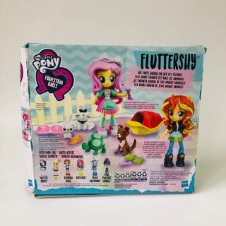 Bộ đồ chơi Pony và thú cưng FLUTTERSHY