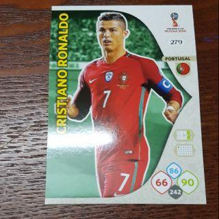 Ronaldo Panini world cup 2018 ( thẻ cầu thủ )