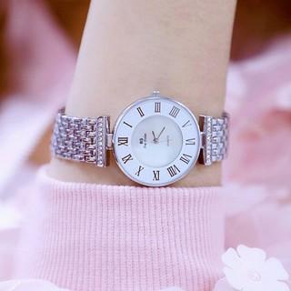 Đồng hồ nữ Bee Sister 1382 hàng chính hãng dây đính full đá thumbnail