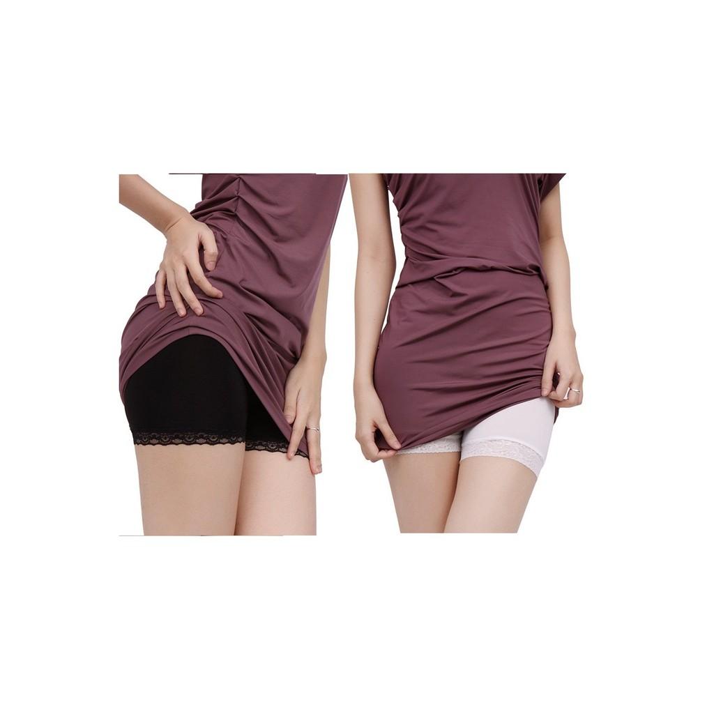 Bộ 2 Quần Mặc Váy chodeal24h (Đen và Trắng)
