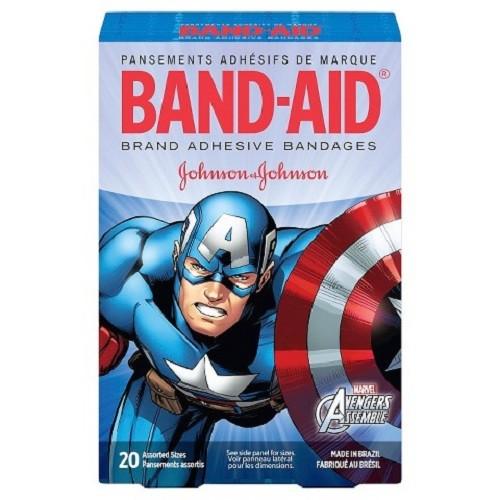 Băng dán cá nhân cho bé Johnson Marvel Advengers