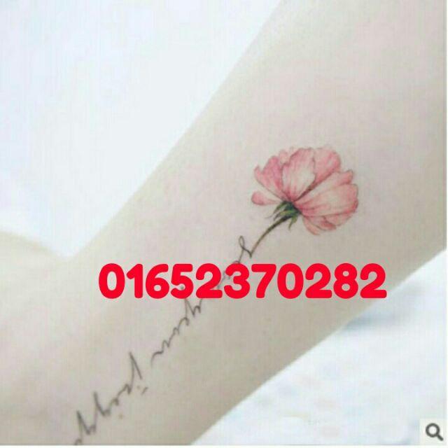 Hình xăm dán tattoo hình bông hoa đẹp - 3341036 , 881413422 , 322_881413422 , 5000 , Hinh-xam-dan-tattoo-hinh-bong-hoa-dep-322_881413422 , shopee.vn , Hình xăm dán tattoo hình bông hoa đẹp