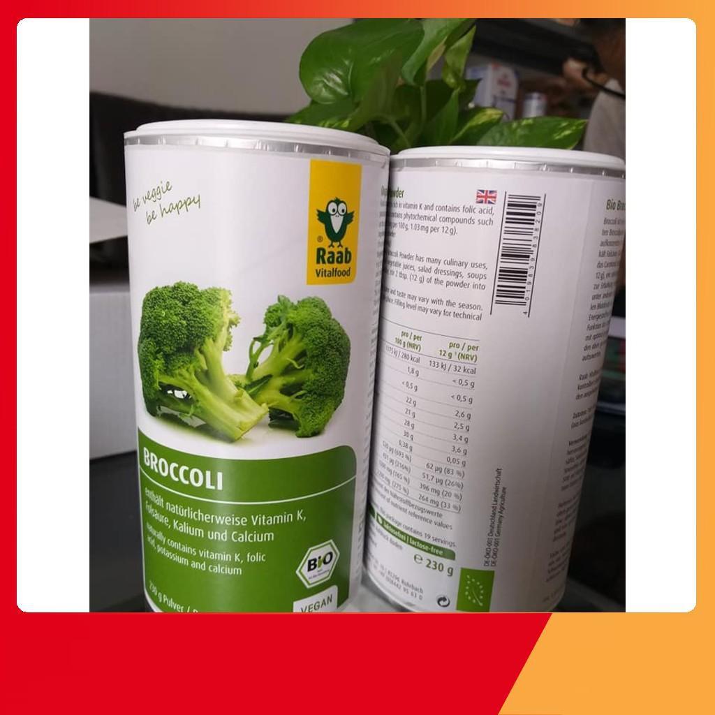 Organic- Bột rau súp lơ hữu cơ Raab - 230g