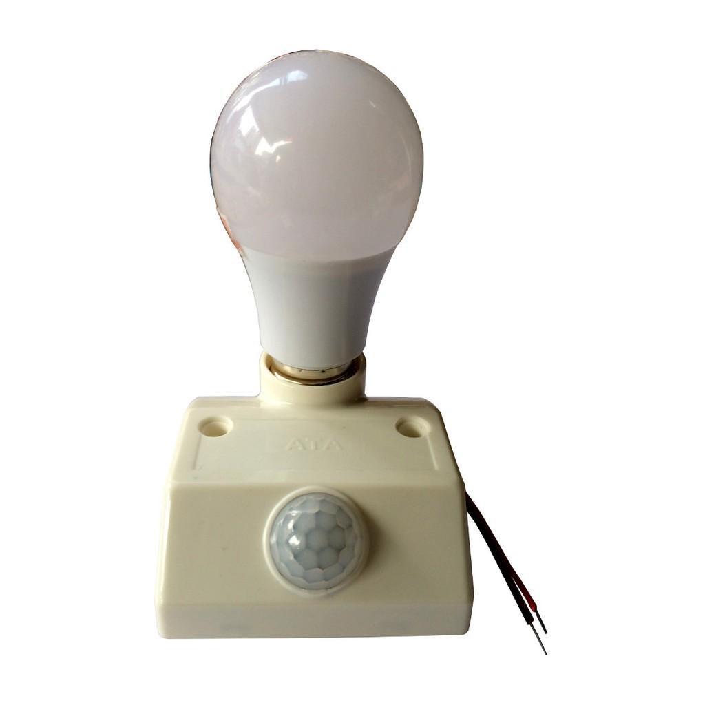 Bộ đuôi đèn cảm ứng ATA18 và bóng đèn Led 5W Rạng đông - 2653864 , 154598130 , 322_154598130 , 195000 , Bo-duoi-den-cam-ung-ATA18-va-bong-den-Led-5W-Rang-dong-322_154598130 , shopee.vn , Bộ đuôi đèn cảm ứng ATA18 và bóng đèn Led 5W Rạng đông