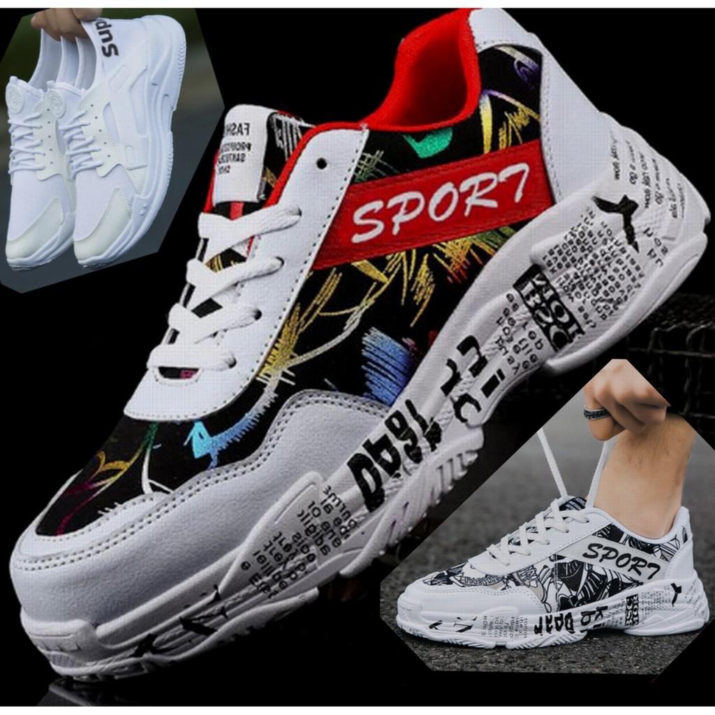 Giày Thể Thao Nam KATEZA46 Giày Sneaker Tăng Chiều Cao Siêu Ngầu Thoáng Khí Phong Cách Trẻ Trung Năng Động