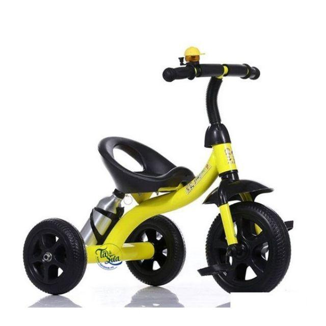 Xe đạp 3 bánh kèm kèn bóp 616 cho bé. Xe 3 bánh khung kim loại chắc chắn