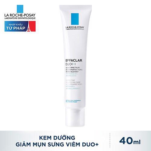 [Auth]Kem Giảm Mụn La Roche Posay Effaclar Duo+