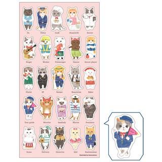 Sticker Dán Trang Trí Hình Mèo Đáng Yêu