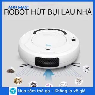 [CÓ SẴN] ROBOT Tự Động  Lau Dọn Nhà Thông Minh BOWAI Công Nghệ AI Cao Cấp Tự động hút bụi, lau nhà
