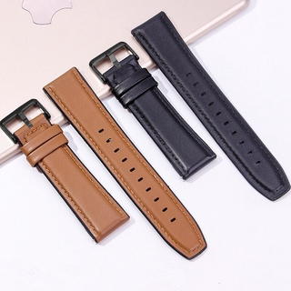 SAMSUNG Dây Đeo Bằng Da 22mm Cho Đồng Hồ Thông Minh Huawei Watch Gt Gt2 / Amazfit Gtr 47mm