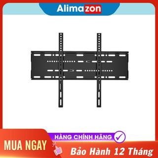 khung treo tivi cố định kích thước 43-75 inch, từ thép không gỉ mạ kẽm, trọng tải 75kg