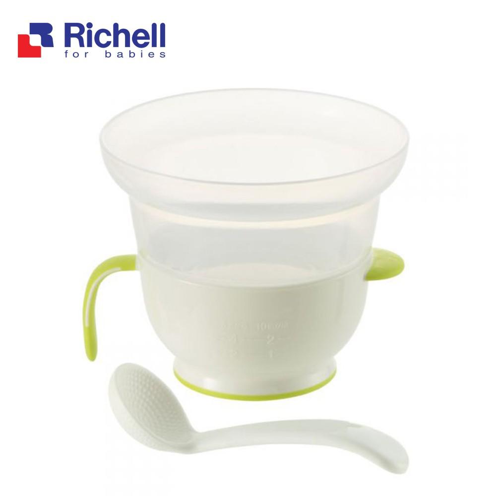 Cốc nấu cơm nát trong lò vi sóng Richell RC41860 (41860)