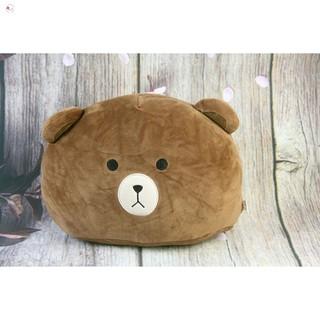 [NHẬP MÃ]Gối đầu Oenpe hình gấu nâu brown siêu đáng yêu, chất liệu cao cấp