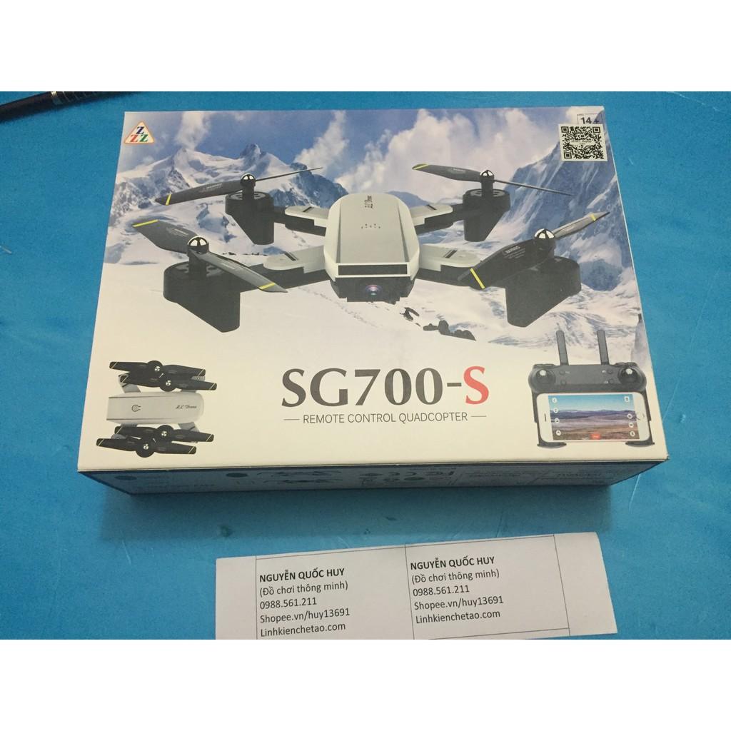 [Nhập mã TOYMAY15 giảm 15K] Flycam SG700 camera kép độ phân giải HD 1080P