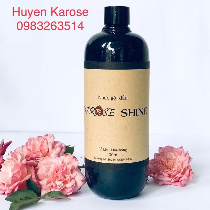 Dầu gội đầu bồ kết hoa hồng thảo dược trị :gầu , ngứa , rụng tóc (DATE LUÔN MỚI NHẤT)