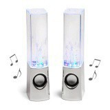 Loa nhạc nước 3D Water Speaker (Trắng) 06 PKGT002