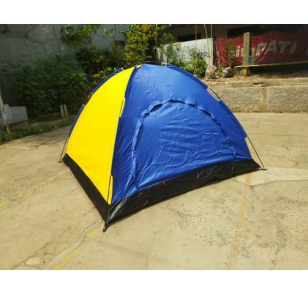 Lều Cắm Trại Một Lớp Chống Thấm Nước Họa Tiết Rằn Ri Dành Cho Người Lớn 2-4 - 6 Loreng