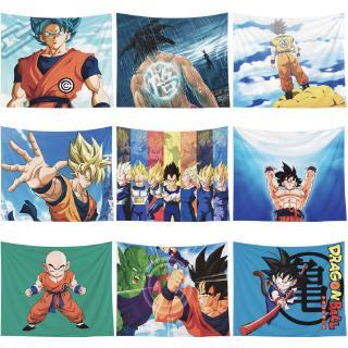 Khăn Trải Bàn Họa Tiết Hoạt Hình Dragon Ball Và Son Goku Độc Đáo