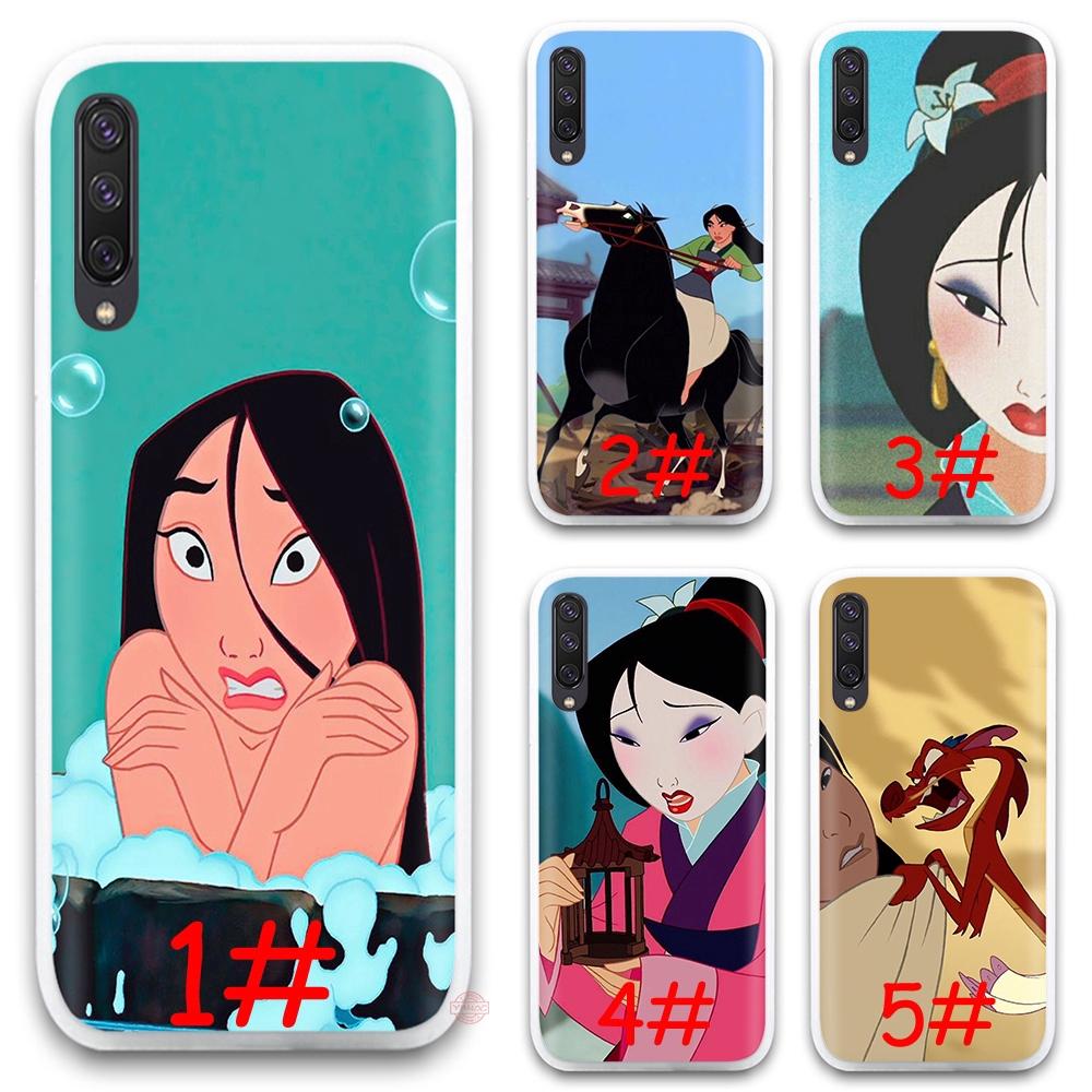 24F Cartoon Mulan Anime Soft Silicone Case Samsung Galaxy A10 A20 A30 A40 A50 A60 A70 M10 M20 M30 M40