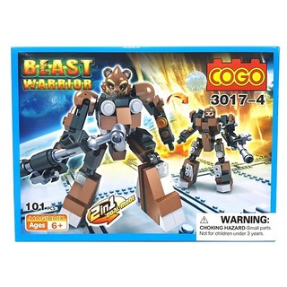 COGO – ROBOT – BEAST WARRIORS (3017-4-6)