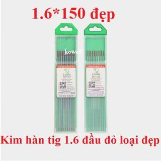 1 cây Kim hàn tig inox , nhôm 1.6-2.0-2.4-3.2 thumbnail