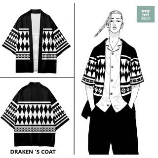 WINSTON pre ORDER | áo khoác cosplay Draken – Tokyo manji | Tokyo revengers |