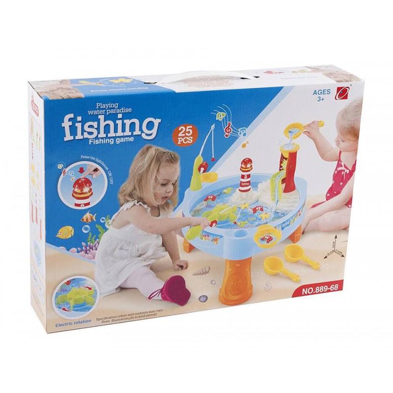 Bộ câu cá có đèn nhạc Toys House 889-68