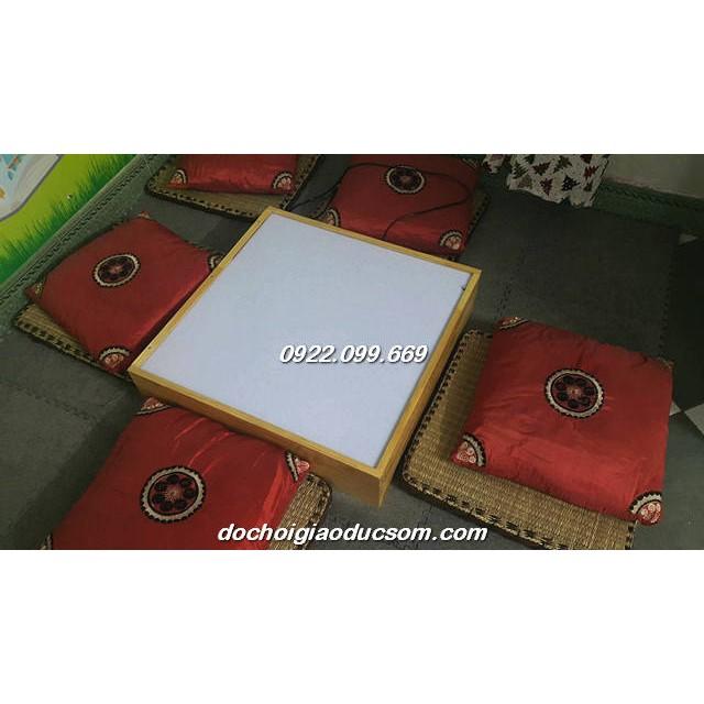 Bàn ánh sáng trắng - Bàn ánh sáng mầu - Light box - Hình VUÔNG- 60*60cm
