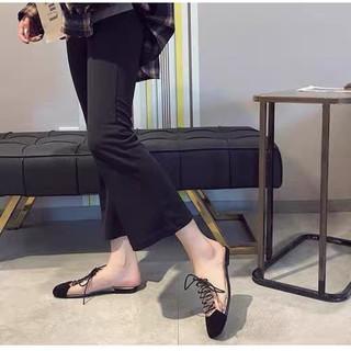Giày bệt nữ sục nữ đan dây quai trong hàng chuẩn công ty thumbnail