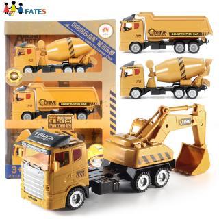3Pcs/Set Kids Boys Educational Simulation Inertia Truck Toys Set
