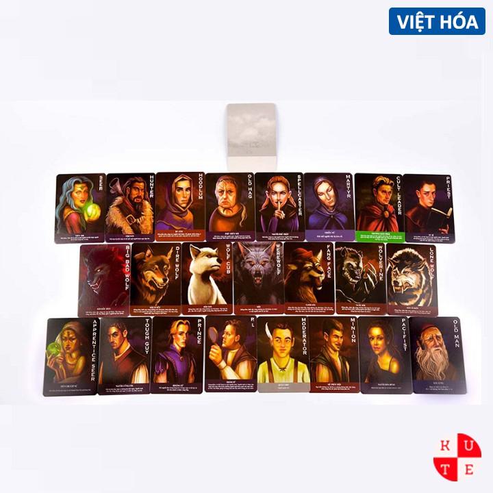 Bài Ma Sói Việt Hóa Thẻ Bài Ma Sói Ultimate Deluxe Việt Hóa