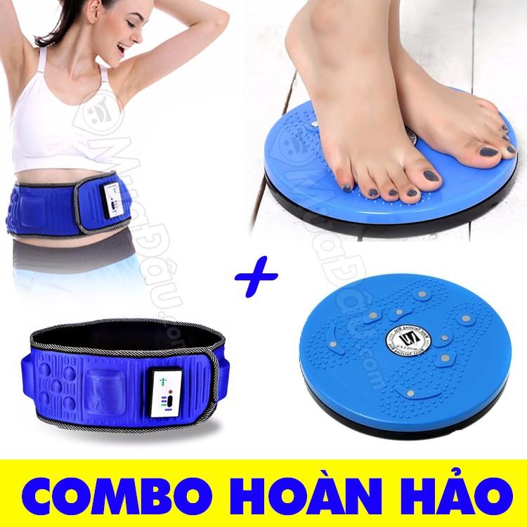 [COMBO] Đai massage bụng X5 + Đĩa xoay eo giảm mỡ bụng hoàn hảo - 9995877 , 313810083 , 322_313810083 , 233000 , COMBO-Dai-massage-bung-X5-Dia-xoay-eo-giam-mo-bung-hoan-hao-322_313810083 , shopee.vn , [COMBO] Đai massage bụng X5 + Đĩa xoay eo giảm mỡ bụng hoàn hảo