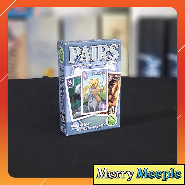 [US] Pairs: The Princess and Mr. Whiffle – Trò chơi board game