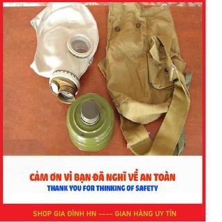 Mặt nạ phòng khói độc khí độc và thoát hiểm hàng Liên Xô