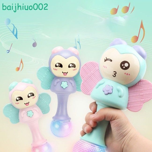 Baby Soft Rattle Toys Children Handbell Toy Early 0-1-3 Old For Education Years