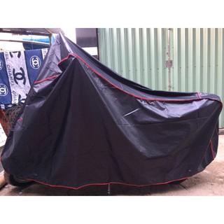Bán áo trùm xe máy, CHẤT LIỆU VẢI, bạt phủ xe máy bền đẹp dành cho xe tay ga, BPXM-DENCB