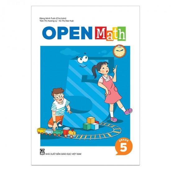 Sách Toán Tiếng Anh OpenMath Lớp 5