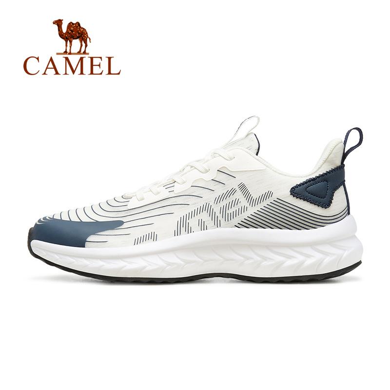 Giày Chạy Bộ CAMEL A113046118 Đế Mềm Vải Lưới Mỏng Thoáng Khí Cho Nam