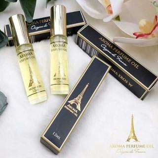 Tinh dầu nước hoa Pháp Aroma dạng lăn 12ml mini gồm 15 mùi nước hoa nam, nước hoa nữ, unisex thumbnail